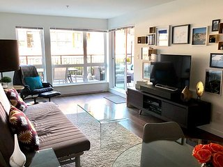 'Pandora's Patio' Spacious Condo From $185.00 CAD with secure parking.