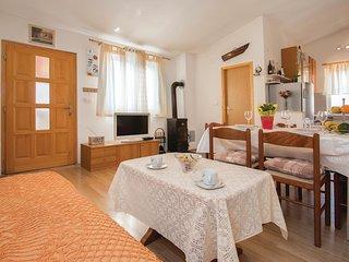 Amazing home in Jadreski w/ WiFi, Outdoor swimming pool and 1 Bedrooms