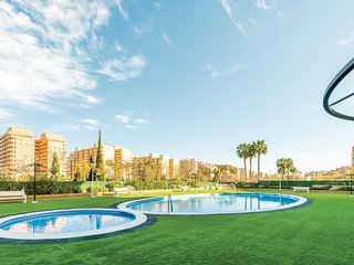 Amazing apartment in Oropesa del Mar w/ WiFi, Outdoor swimming pool and 2 Bedroo