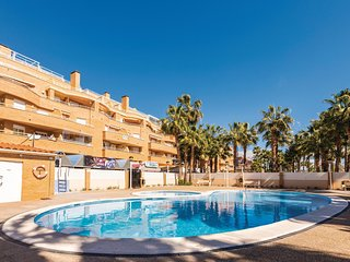 Beautiful apartment in Oropesa del Mar w/ WiFi, Outdoor swimming pool and 3 Bedr