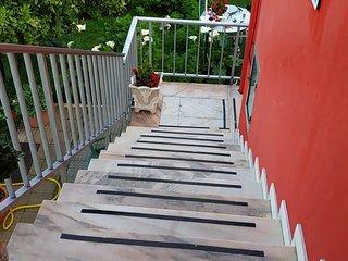 Escaleras de acceso