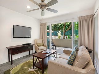 Stylish Upgrades! Gourmet Kitchen, Lanai, Flat Screen, WiFi, Den–Kauai Kailani