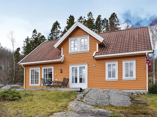 Beautiful home in Farsund w/ 4 Bedrooms (NVK049)