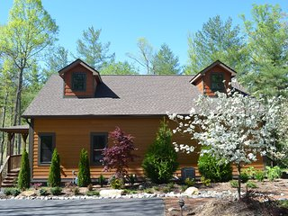Asheville Country Cabins - NEW Upscale Luxury Cabin Resort 20 mins to downtown