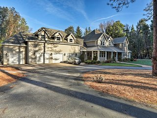 30-Acre 'Sierra Jewel' w/ Pool, by Nevada City