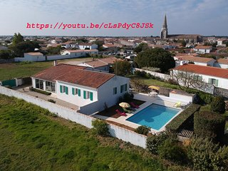 Villa au bord de la mer a Sante Marie de Re