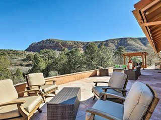 Secluded Sedona Home w/Patio & Red Rock Views