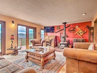 Idaho Springs House w/ Deck & Mountain Views!