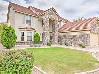NEW! Chandler Home w/ Pool - Walk to Golf Course!