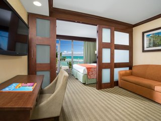 NEW LISTING! Ocean Front 1-Bedroom Resort Suite with a Balcony