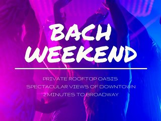 ECH2 ★ BRAND NEW PROPERTY ★ BACH PARTIES WELCOME ★ SKYLINE VIEWS ★ ROOFTOP DECK