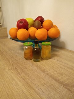 Always fresh fruits and olive oil for your first day provided