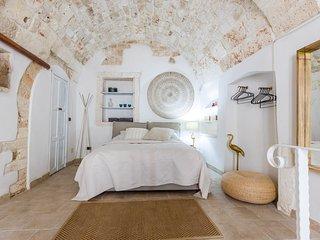 Ostuni Apulien Ferienwohnung altes Stadtzentrum Strandnah