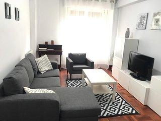 Centro Zarautz piso+garaje+wifi