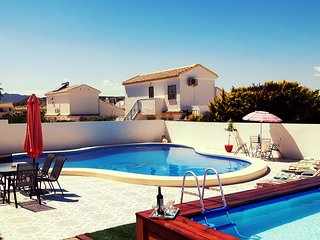 UNIQUE VILLA WITH 2 POOLS !!!   SLEEPS up to 8,  **GREAT HOLIDAY ASSURED HERE**