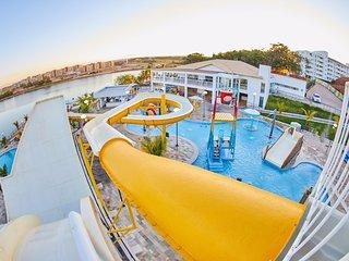 Resort Do Lago diversao e tranquilidade garantidos.