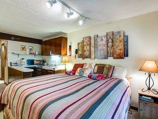 Snowline Lodge Condo #46 - KITCHENETTE, SHARED WIFI, DVD, KING BED, SLEEPS-2!