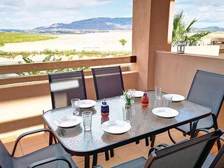 Stunning apartment in Alhama de Murcia w/ Outdoor swimming pool, WiFi and Outdoo