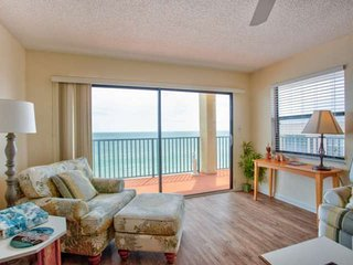 Top floor beachfront condo.  Incredibly Spacious.  Overlooking the best beach in