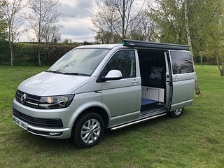 Trek Campers - Fully equipped and newly converted VW Transporter camper vans