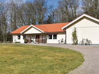 Stunning home in Hyltebruk w/ Sauna, WiFi and 3 Bedrooms