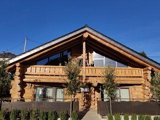 4 Sterne Blockhaus Appartment im Grünen