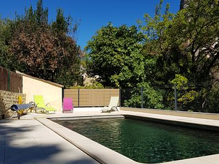Appartement 110 m2, jardin piscine