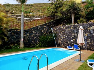 Tkasita La Reverica 2 con Piscina y Asadero. La Palma, Islas Canarias