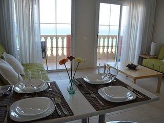Apartamentos Playa Paraiso, Costa Calma, Fuerteventura, en primera línea de mar.