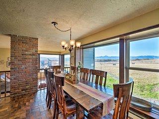 Bozeman Home on 11 Acres w/ Mountain Views!