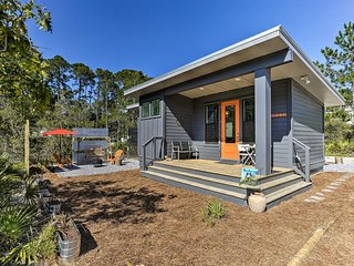 NEW! Mid-Century Modern Beach Cottage for Two!