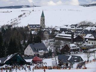 Familienferien im Erzgebirge, Bei Oberwiesenthal, Wander- und Skigebiet