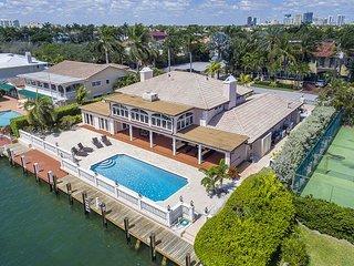 Luxury Waterfront Estate w/ Pool & Dock on Intracoastal - 2 Blocks to Beach