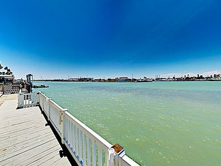 Home on Channel w/ Views of Water, Expansive Covered Deck & 2 Pools!