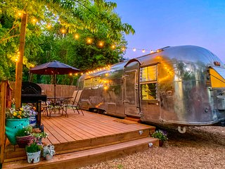 Tin Willy the Airstream (+Sauna, +Dog Friendly)