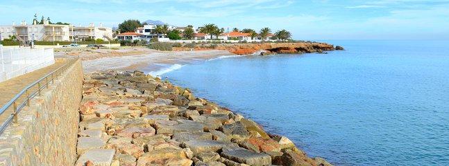L'Ampolla village and beach