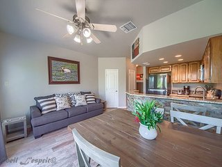 Newly updated 1/1 condo on the Guadalupe River!