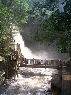 Bushkill Falls - 50 minute drive
