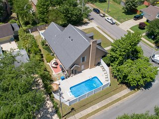 All that and then some! Large home. Private pool. Centrally located!