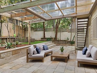Huge Garden Apartment in the Heart of Bondi Beach