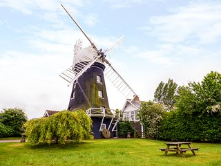 THE WINDMILL, unique, sleeps four, pets welcome, windmill, Marcott, Ref 960945