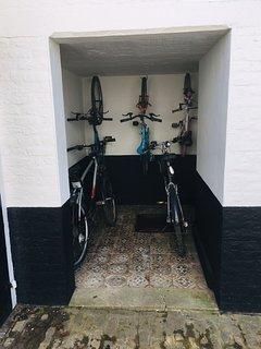 Vélos à disposition
