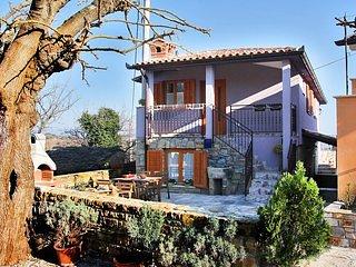 Bâtiment, porche, dehors, nature, maison