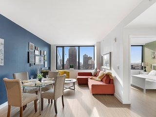 PREMIUM BRAND NEW 1 BEDROOM APT, STATUE OF LIBERTY VIEWS -ZEN SUITES- 19QA