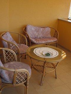 Meubles, chaise, salon, salle, intérieur
