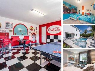 EC010- Modern 8 Bedroom Villa at the Encore Resort