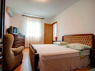 Meubelen, slaapkamer, kamer, binnen, Bed