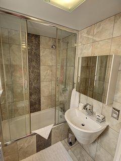 Bathroom serving first floor