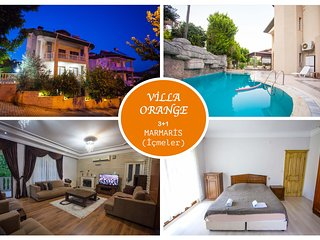 Villa Orange Icmeler Daily Weekly Rentals