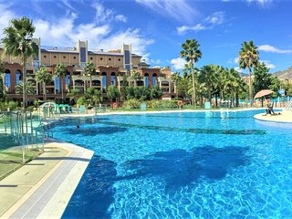 Bellagio Apartment Benalmadena 3 Bed Apt in Fantastic Luxury Complex  Wifi A/C